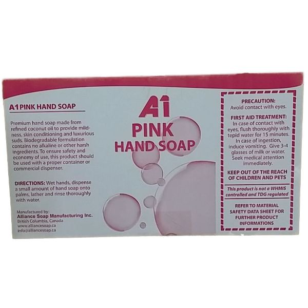 A1 Pink Soap