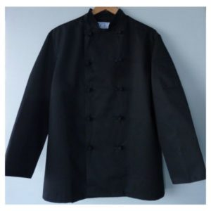 1017 black knot chef jacket